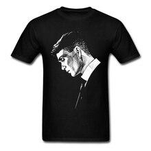 Vintageกำลังมองหาเสื้อผ้าShelbys Brofhers Tเสื้อPeakys 3XLแขนสั้นผู้ชายเสื้อผ้าPpผ้าฝ้ายคู่Teeเสื้อสำหรับชาย
