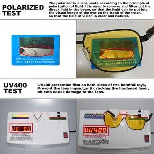 Image 4 - Unisex Luchtvaart Rijden Meekleurende Zonnebril Vrouwen Hd Gepolariseerde Geel Lens Chameleon Zonnebril Mannen Oculos Auto Accessoires
