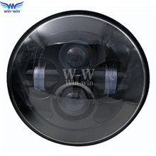 7″ LED Projection Head Light Lamp for Harley Davidson Touring Sportster 883 1200 Electra Street Glide Stickers Softail Road King