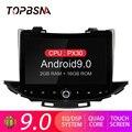 TOPBSNA Android 9 0 Автомобильный DVD плеер для CHEVROLET TRAX 2017 GPS навигация мультимедийный плеер 1 Din автомобильное радио стерео головное устройство RDS