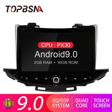 TOPBSNA Android 9.0 Car DVD Player for CHEVROLET TRAX 2017 GPS Navigation multimedia Player 1 Din Car Radio Stereo Headunit RDS android 8 car dvd player gps navigation for mazda cx 7 2008 2015 multimedia headunit stereo tape recorder 2 din radio