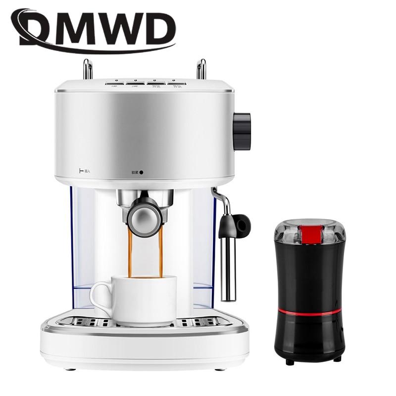 DMWD Italian Pressure Steam Automatic Espresso Coffee ...