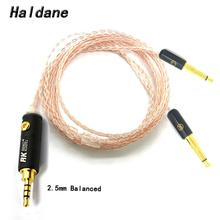 Free Shipping Haldane 8cores Replacement Headphones Cable Audio Upgrade Cable For Meze 99 Classics/Focal Elear Headphones стоимость