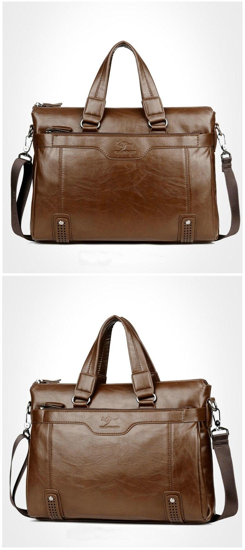 HTB1t3tzelWD3KVjSZFsq6AqkpXar Cowhide Leather men's Briefcase men laptop male messenger bag Men's shoulder bags briefcases for documents bag
