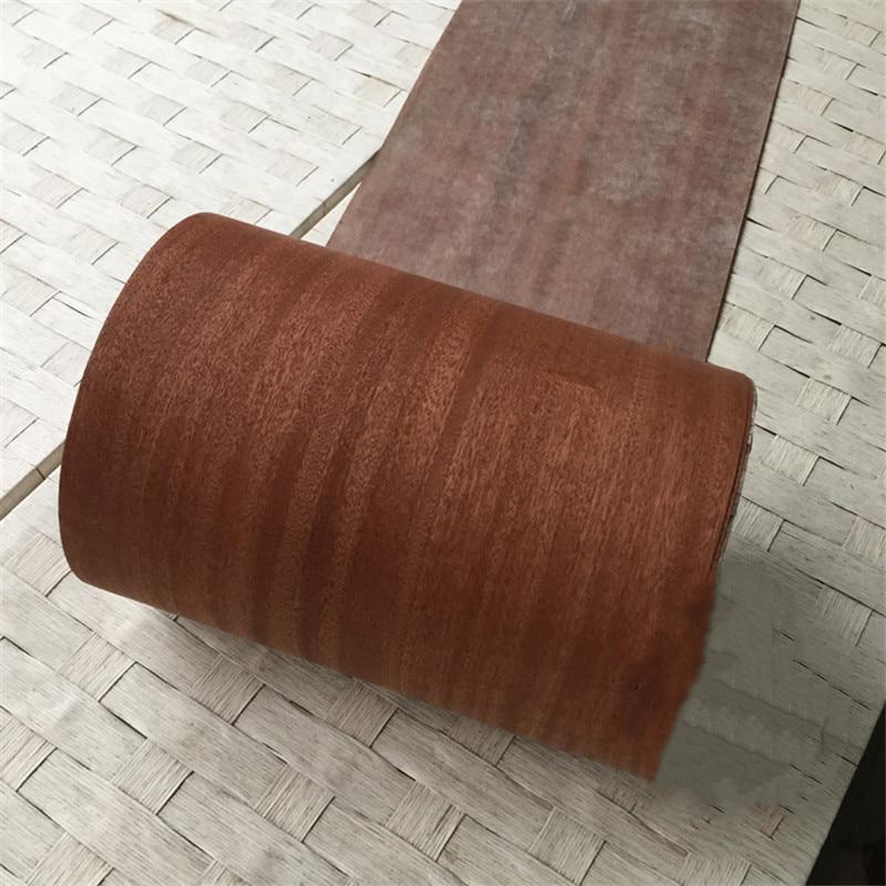 Natural Genuine Wood Veneer Sliced Sapele 0.2MM Veneers Furniture Edge Banding