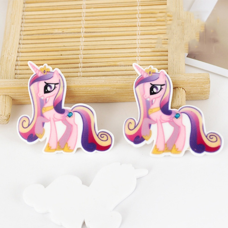Hot Sale 40pcs/lot 36*34MM Cartoon Flatback Resin Buttons Flat Back Scrapbooking Charming DIY Craft Jewelry Decoration LS219