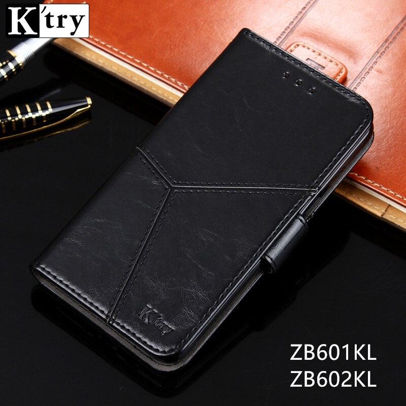 Para asus zenfone max pro (m1) zb601kl zb602kl caso luxo caso de couro da aleta para asus zb601kl carteira livro capa telefone casos