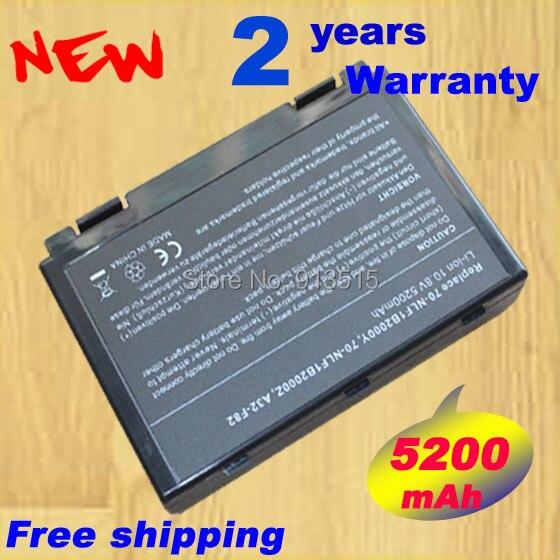 New Laptop battery for ASUS K50, K50A, K50AB, K50AD, K50AE, K50AF, K50C, K50IJ, K50IN K40, K40E, K40IJ, K40IN