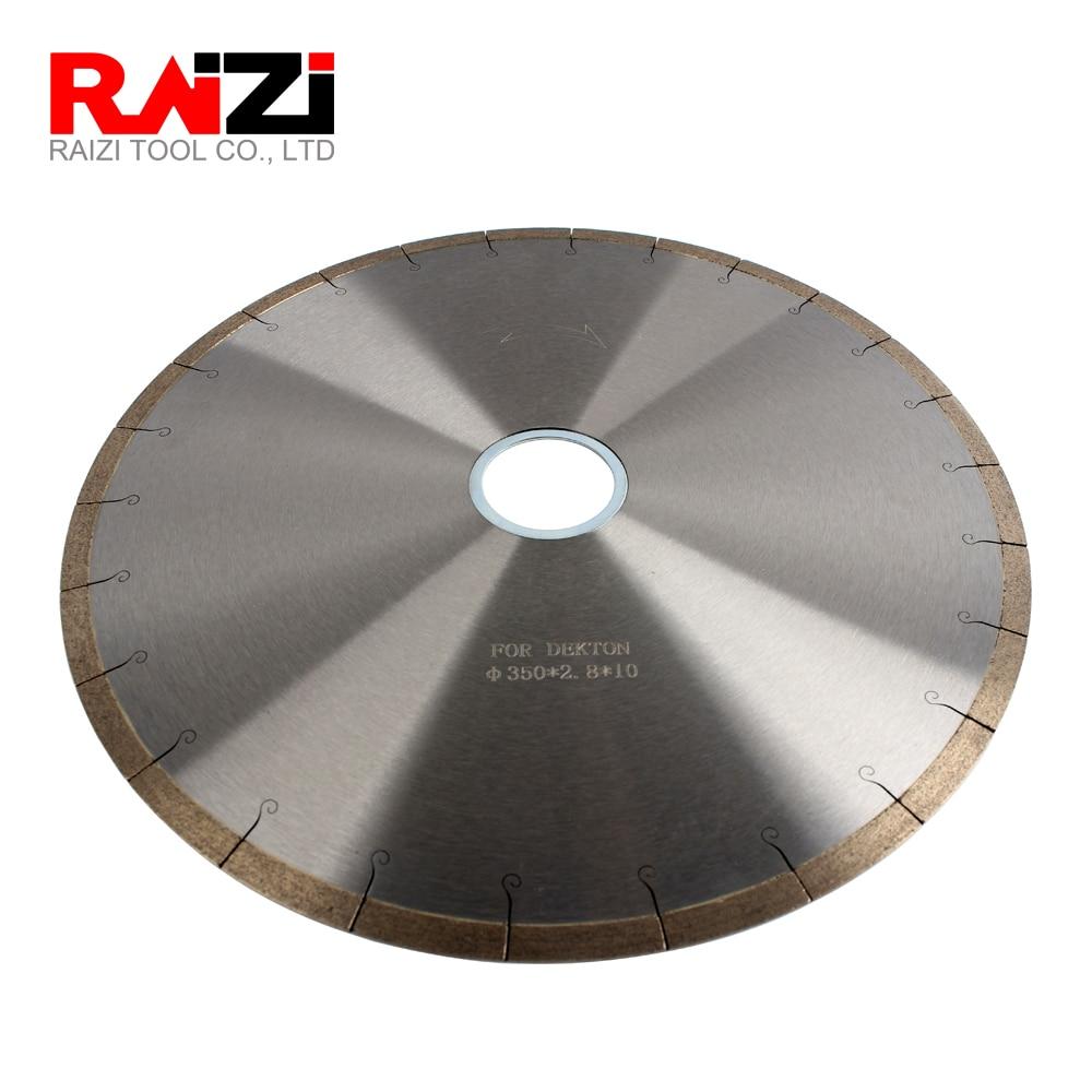 Raizi 14 Inch 350mm Diamond Bridge Saw Blade Cutting Disc For Dekton Porcelain Best Quality in Saw Blades from Tools