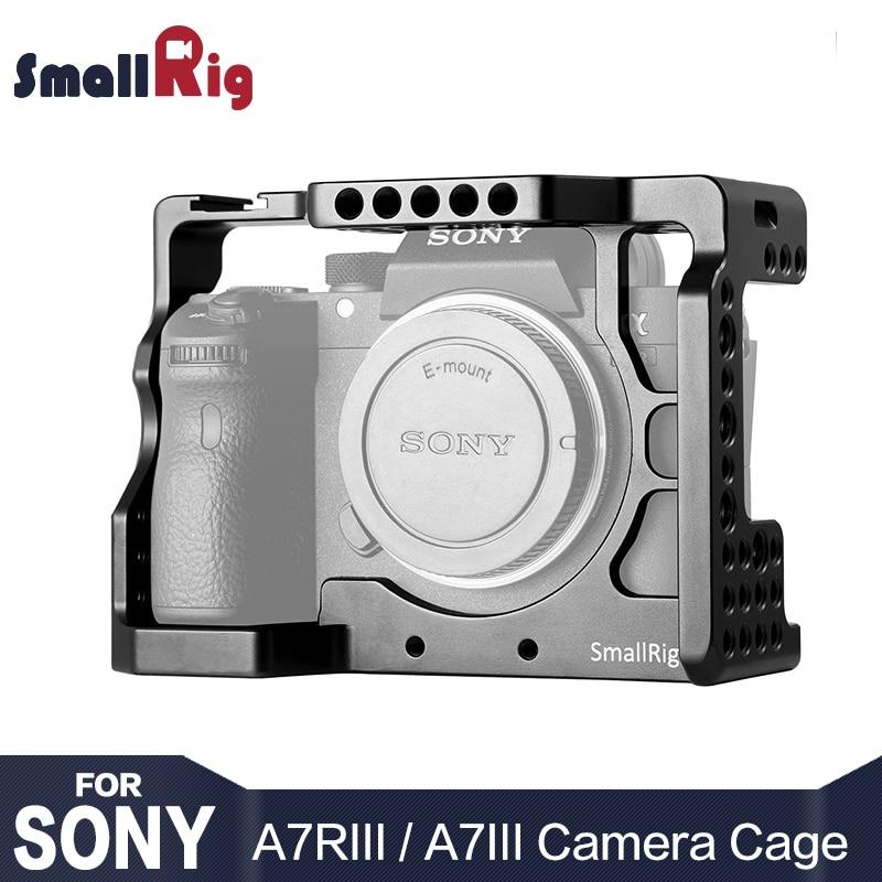 SmallRig DSLR A73 Cage A7R3 Caméra Cage pour Sony A7R III/A7M3/A7 III Avec Arri Localiser Trou 4/1 8/3 Fils trou 2087