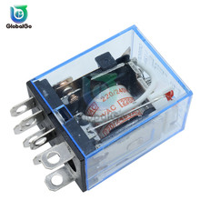 DC 12V AC 220V 10A 8PIN Car Relay Module Power Rela