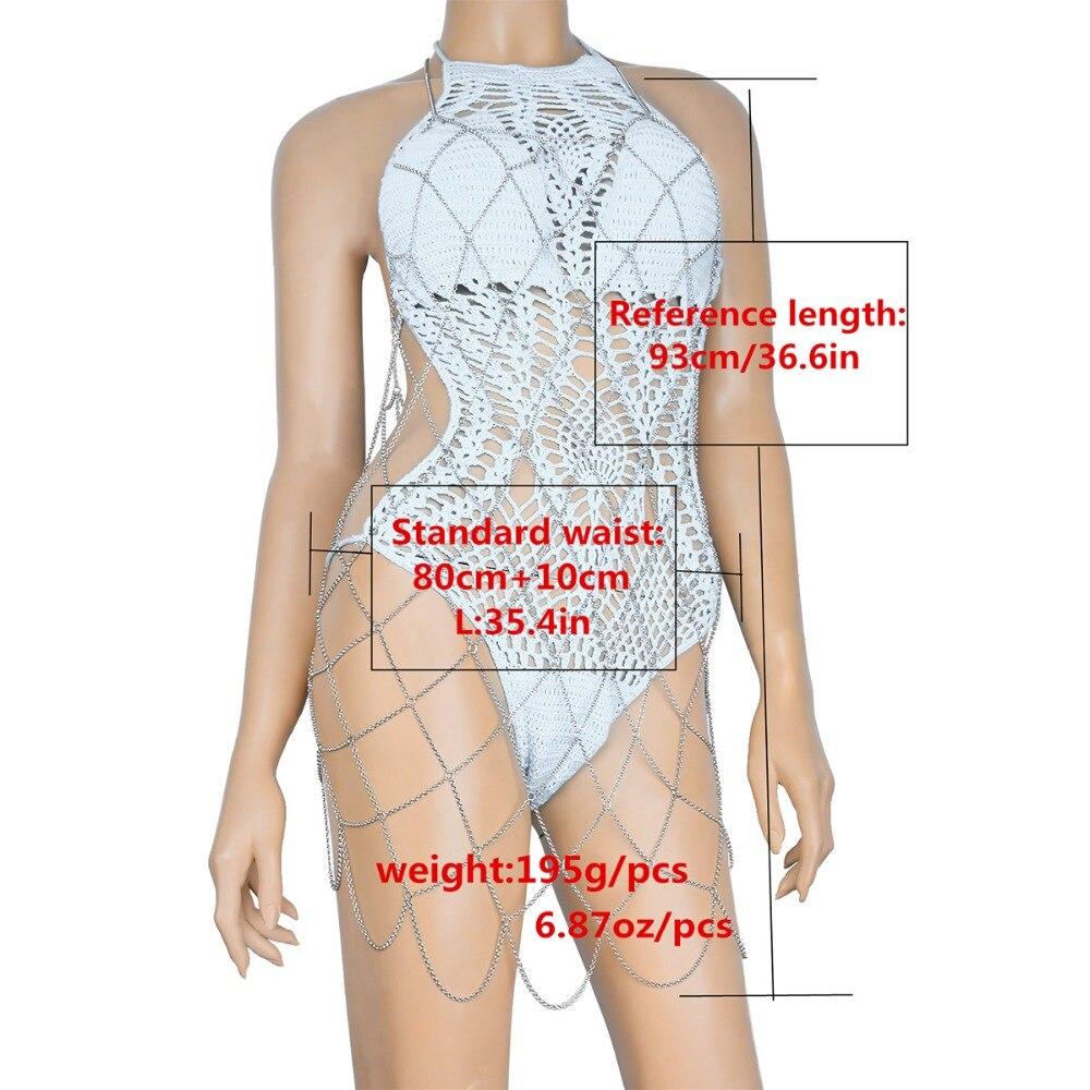 HTB1t3v7SXXXXXaOXpXXq6xXFXXXz Bikini Waist Body Chain Harness Metal Body Bra