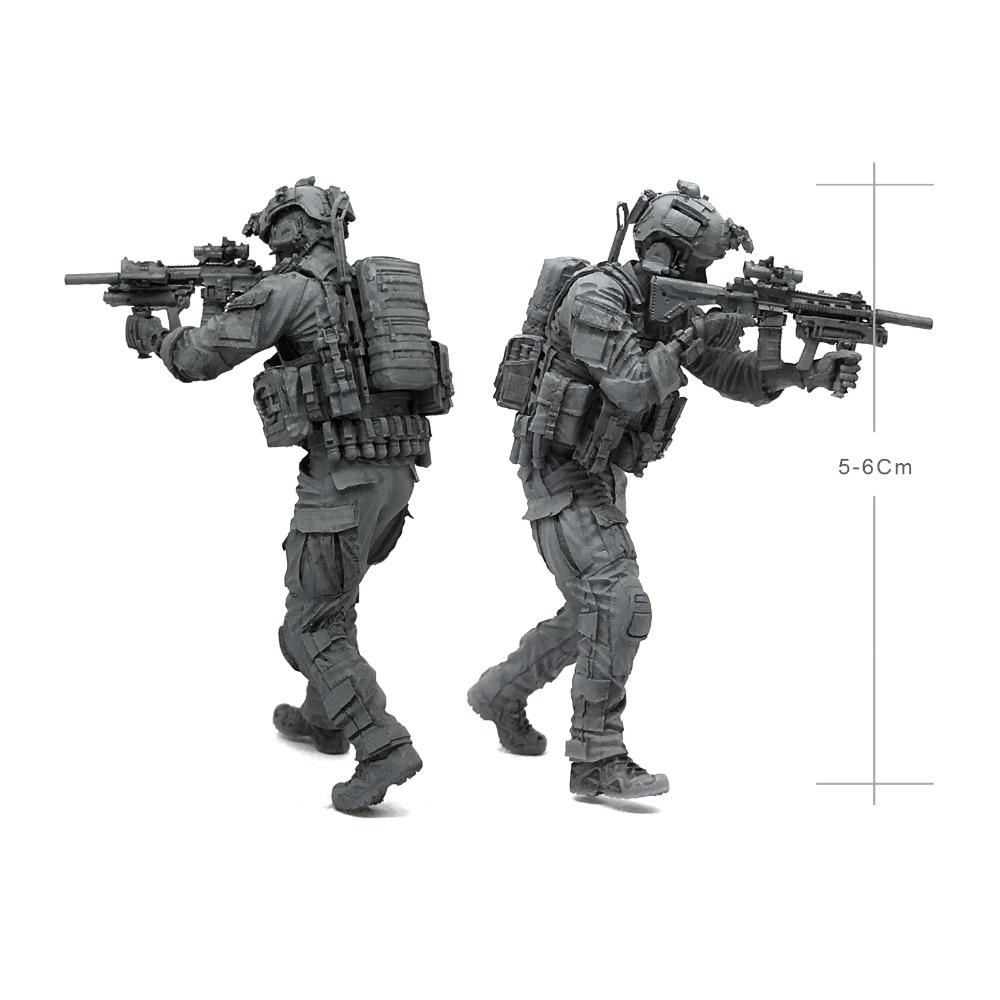1/35 harz abbildung modell kit Modernen Amerikanischen elite special forces Unlackiert