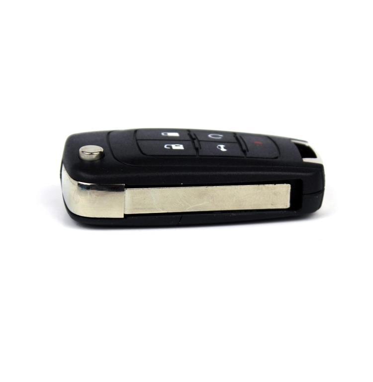 Auto Vouwen Afstandsbediening Sleutel Shell Vervanging Key Case Fob voor Chevy voor Chevrolet Cruze Camaro Impala Malibu Sonic Aveo Trax epica