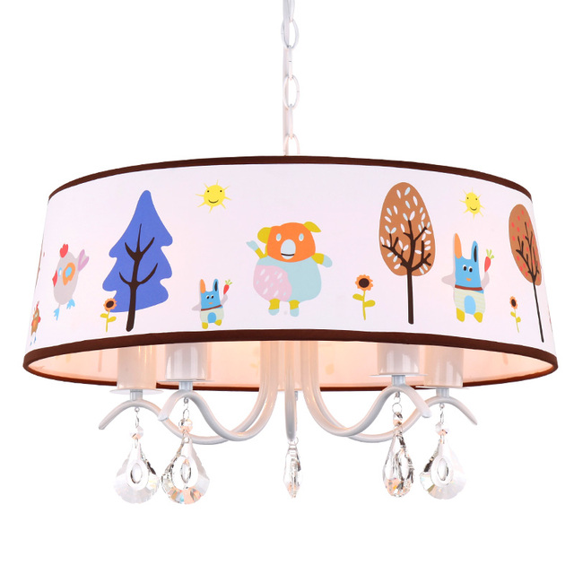 US $158.0 |Children\'s room bedroom ceiling boys and girls bedroom lighting  warm garden cartoon creative ceiling lamp LO810-in Ceiling Lights from ...