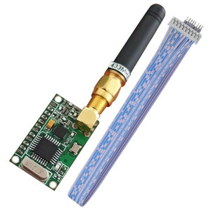 Image 5 - UART 433mhz rf modülü 868mhz verici ve alıcı 433mhz ttl rs232 kablosuz rs485 verici 915mhz modülü