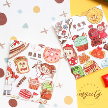 Snack Spree Series Washi Paper Sticker Pack Diary notebook DIY Decorative Stickers