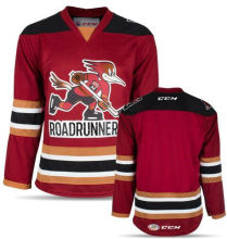 430a63ce637 Tucson Roadrunners Red White Mens Hockey Jersey Embroidery Stitched any  number and name Jerseys(China