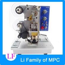 HP-241B Automatic Ribbon Coding Machine 220V 120W Typography Electric Date Batch Printing Machines Heat Press Coder