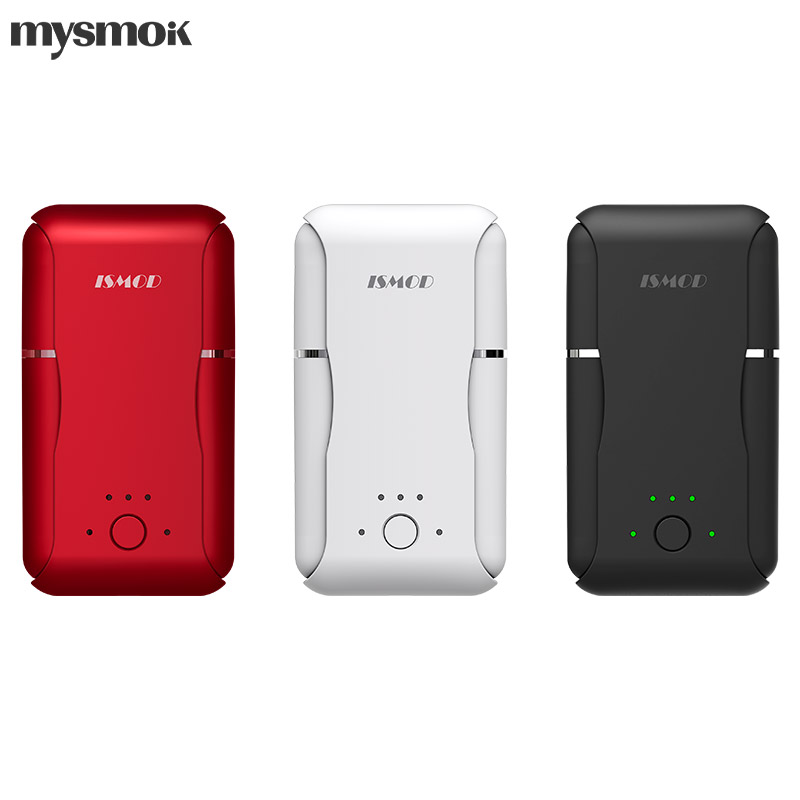 Original MYSMOK ISMOD II Heat-Not-Burn Vape Kit With Double Rods 2200mAh For Heating Tobacco Cartridge Vape Vaporizer Kit