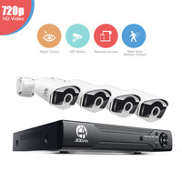8CH CCTV System 960H HDMI CCTV DVR 4PCS Hd 700TVL Indoor Dome CCTV Camera 24 LEDs