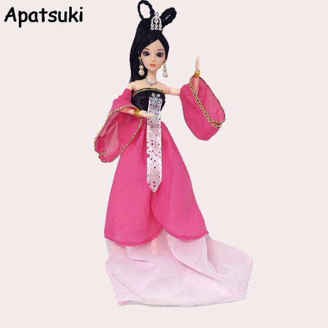 Cosplay Clothes For Barbie Doll Traditional Chinese Ancient Beauty Fairy Costume Party Dress Evening Dresses Doll  sc 1 st  AliExpress.com & Cosplay Clothes For Barbie Doll Traditional Chinese Ancient Beauty ...