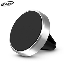 ZLNHIV magnetic holder for phone in car round cellphone for