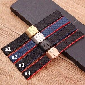 Аксессуары для часов Breitling резиновый ремешок для часов для Мстителей Super Ocean Series нейлоновый холщовый мужской ремешок 22 мм 24 мм
