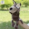 Младенческая Дети Стороны Марионеточных Волк большой рот животного детей детское плюшевые Игрушки Куклы игрушки Рождество подарок на день рождения