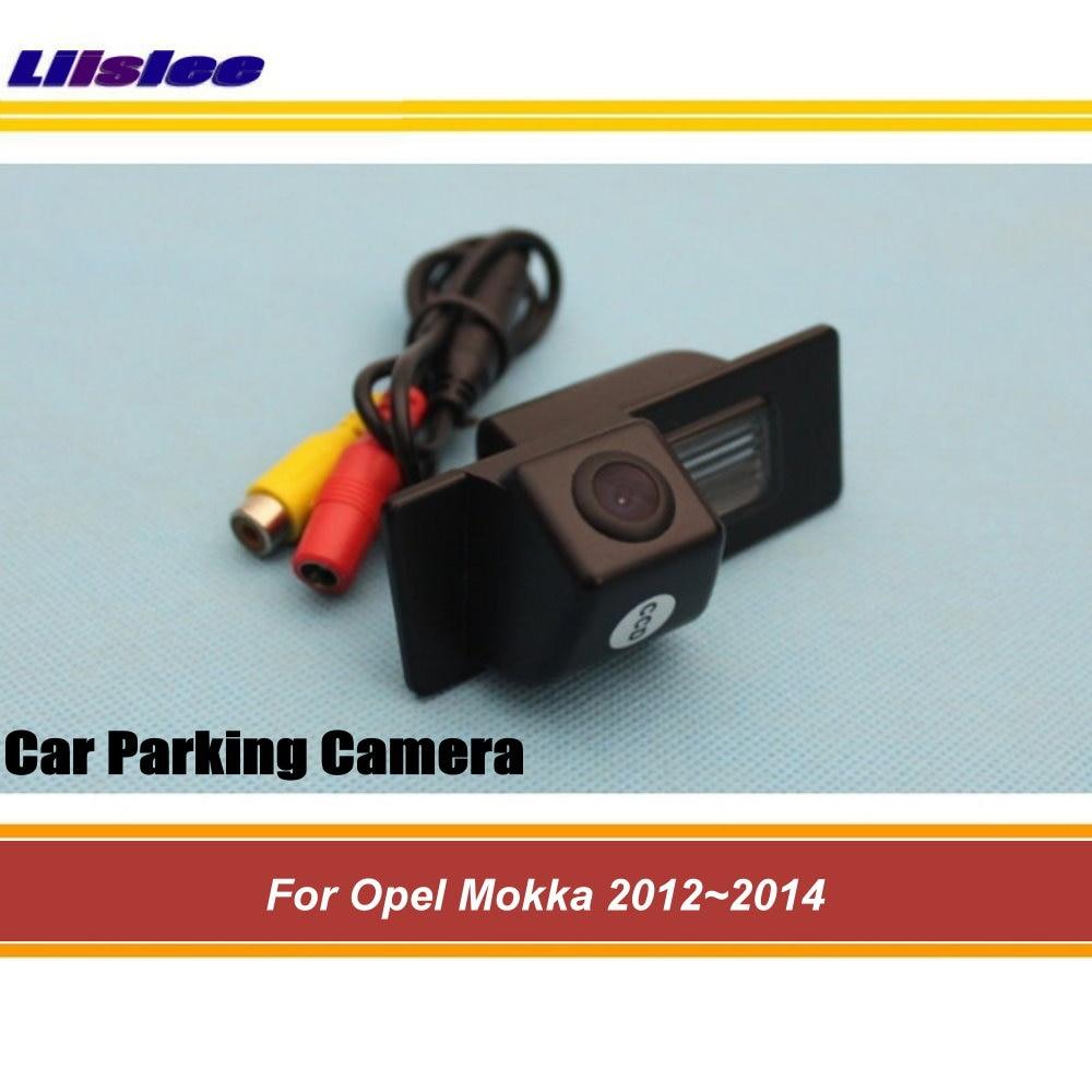 e0adaf8a4 Liislee لأوبل Mokka 2012 ~ 2014 سيارة المتكاملة السيارات كاميرا الرؤية  الخلفية/عكس النسخ الاحتياطي كاميرا لموقف السيارات/HD ليلة الرؤية