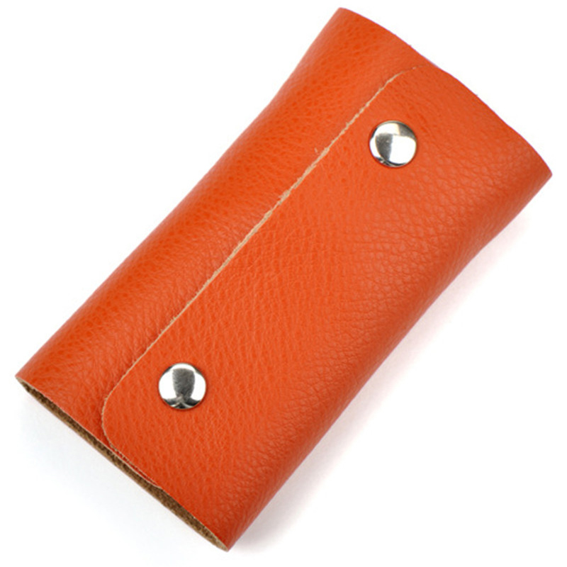 5PCS/Lot Wholesale Various Colors Men/Women Car Key Wallets Holder Minimalist Keychain Fashion Small Key Organizer