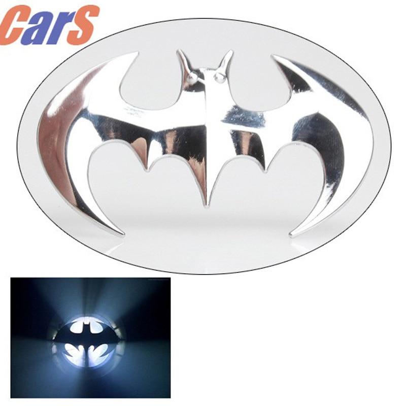 Car Stickers 3D Cartoon Batman  Bat Shape Car Styling  Accessories Car Motor Decal Sticker Metal Car Badge Decoration