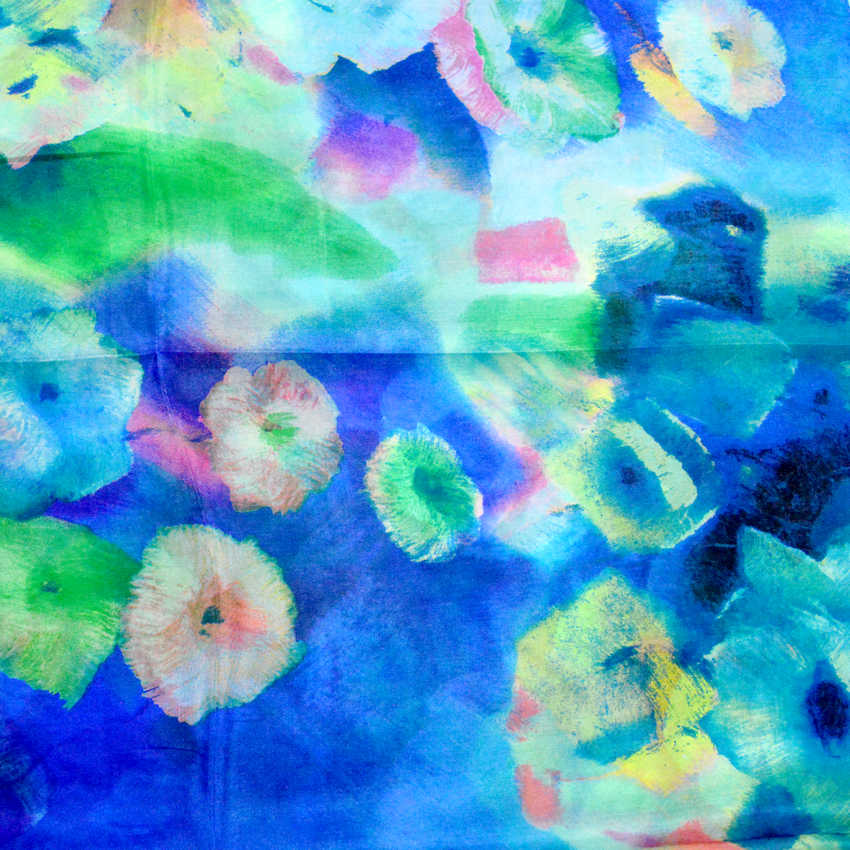 2016 Women Winter Long Scarf Shawl Spring Autumn Female Blue Silk Scarves Printed Summer 100% Mulberry Silk Beach Cover-ups