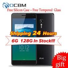"Original ZUK Z2 Pro 4G LTE Teléfono Móvil Snapdragon 820 ZUI 2.0 Quad Core 4/6 GB RAM 64/128 GB ROM 5.2 ""1920*1080 huella digital"