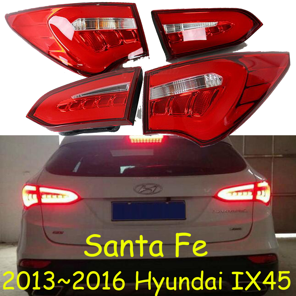 IX45 taillight,Santa Fe,2013~2016,Free ship!LED,4pcs/set,IX45 rear light,IX45 fog light;Tucson,Santa Fe IX45