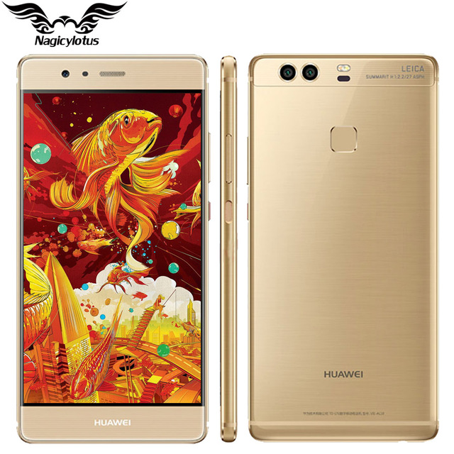 Original Huawei P9 Plus 4G LTE Mobile Phone Kirin 955 Octa Core 4GB RAM 128GB ROM 5.5 inch Android 6.0 Dual SIM 12MP Fingerprint