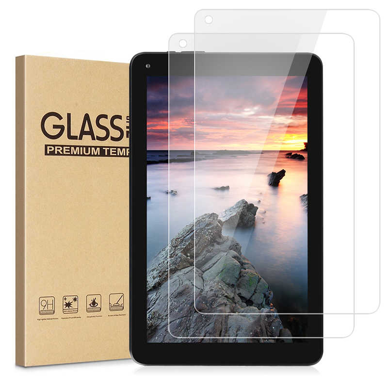 High Definition Full Coverage 3D Touch Gebogene Scratch Gehärtetem Glas Screen Protector für Dragon Touch V10 Android Tablet 10 zoll