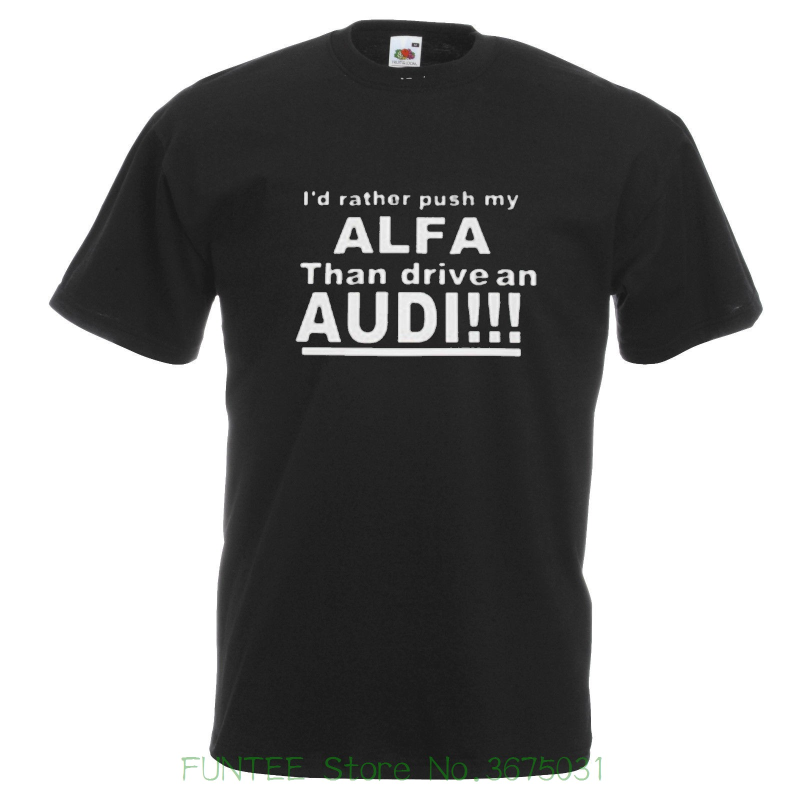 Mens High Quality Tees Alfa Romeo T Shirt Funny Alfa Alfasud Gta 155 156 147 Gt Gtv 75 T ...