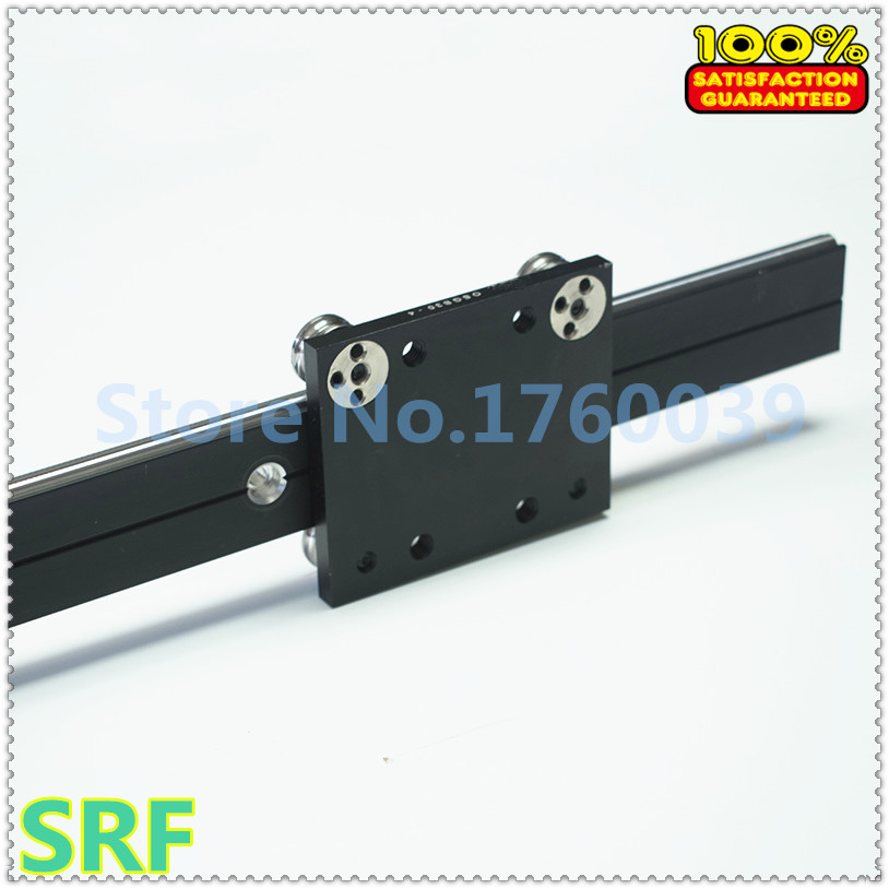 30mm width  Aluminum roller linear guide rail external dual axis linear guide 2pcs OSGR30 L=600mm+2pcs OSGB30UU block 30mm width  Aluminum roller linear guide rail external dual axis linear guide 2pcs OSGR30 L=600mm+2pcs OSGB30UU block