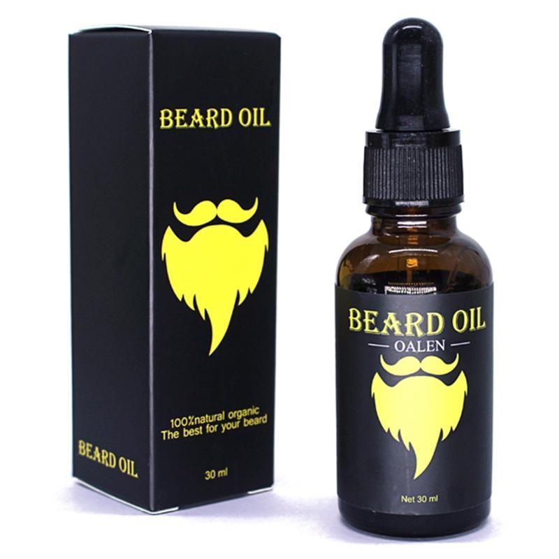 BellyLady Men Moustache Cream Beard Oil Kit with Moustache Comb Brush Storage Bag 1