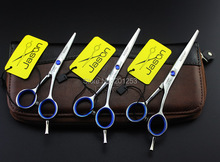 4Inch 5Inch 5.5Inch Small JASON Cutting Scissors with Blue Rhinestone,Hair Cutting Shears/Scissors for Home Use,1pcs,LZS0338