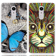 Drop Shipping TPU Soft Phone Case for Alcatel A3 XL 9008I 6-inch Fashion Pattern Colorful Painted