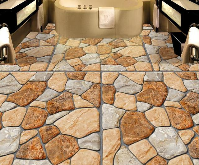 Foto personalizzata d pavimenti in cucina vinile carta da parati