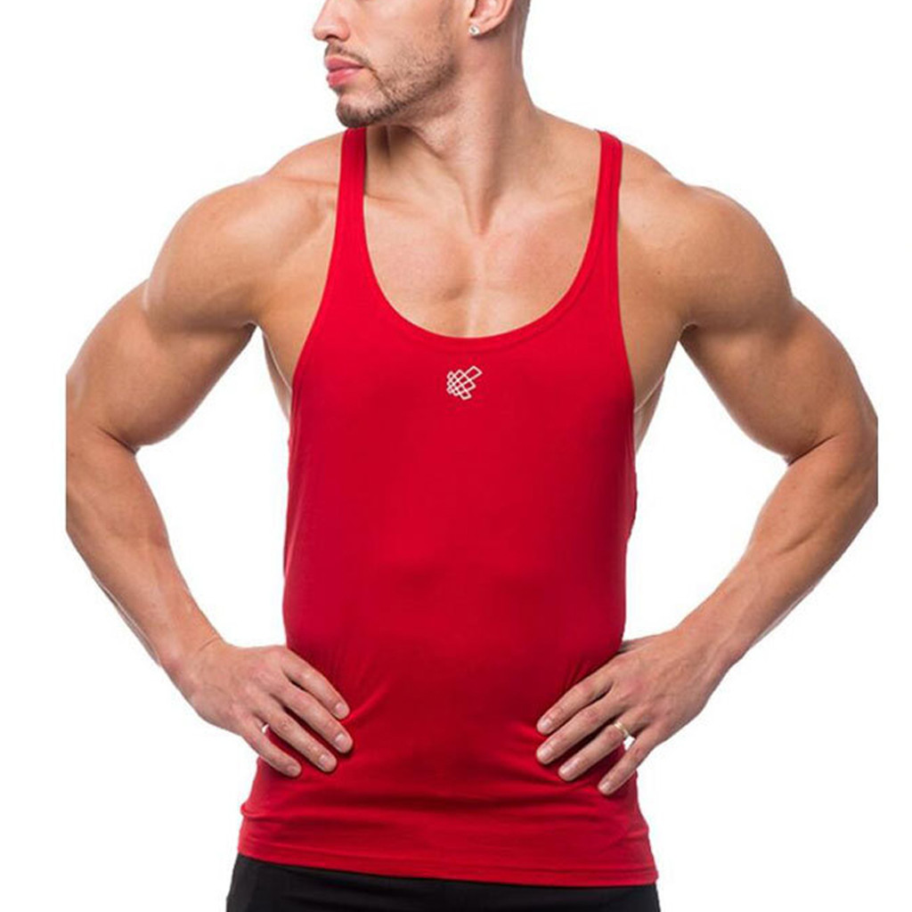 2019 New Gyms   Tank     Tops   Bodybuilding Men Vest Quick dry Printing   Tank     Top   Men Sleeveless Shirts Muscle Men fitness   tank     top