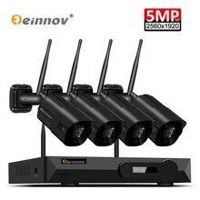 Einnov 5MP Wifi камера H.265 беспроводные камеры видеонаблюдения Система ip система видеонаблюдения Комплект 5.0MP NVR WI FI Camara Wifi безопасность