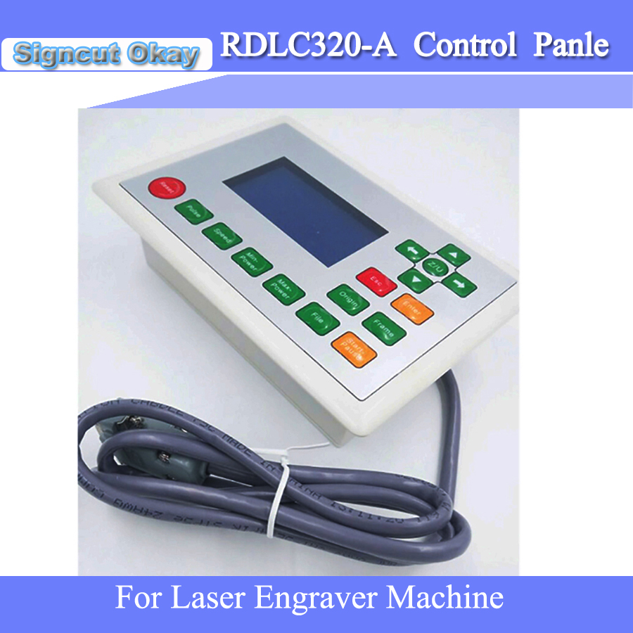 US $79 0 |Factory price Ruida RDLC320 A Control Panel used for Laser  Engraving Machine Ruida system Free Shipping-in Woodworking Machinery Parts  from