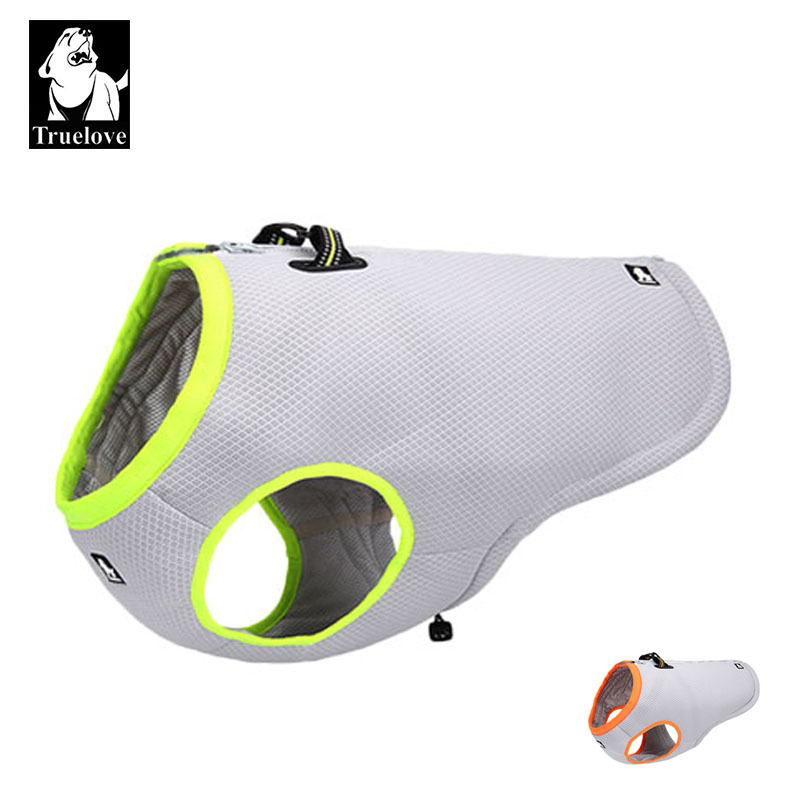 Truelove Summer Dog Cooling Vest Dog Dog Cooling For Dogs Adjustable Pet Mesh Reflective Vest Harnesses Quick Release hot