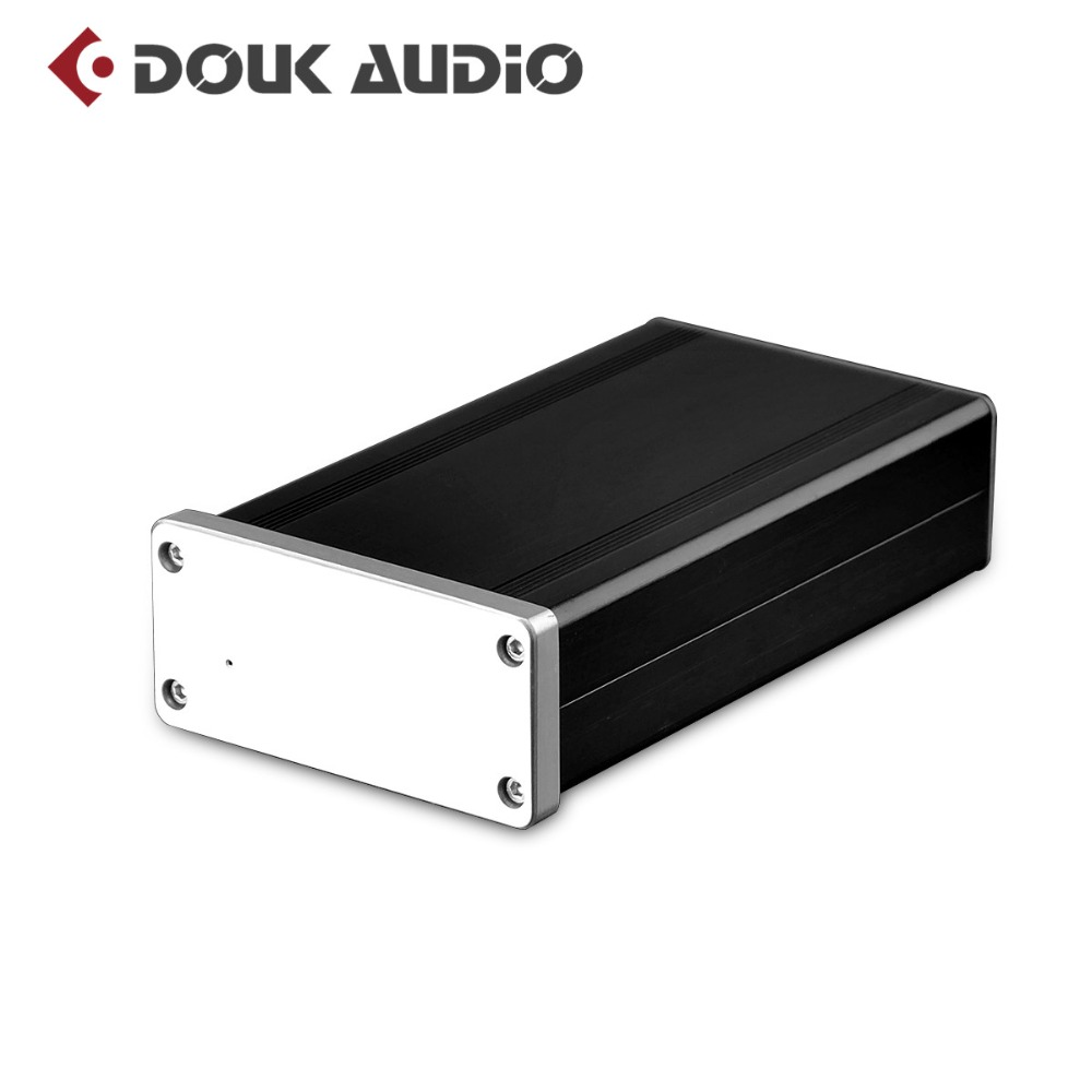 цена на Douk audio Pure Class A HiFi MC Phono Preamplifier LP Vinyl Record Player Turntable Pre-Amp Free Shipping