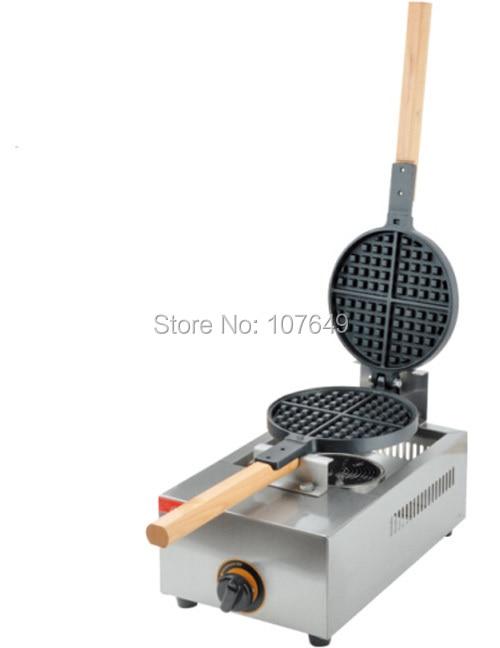 Hot Sale Non-stick LPG Gas Waffle Baker Maker Iron Machine hot sale 16pcs gas bean cake machine