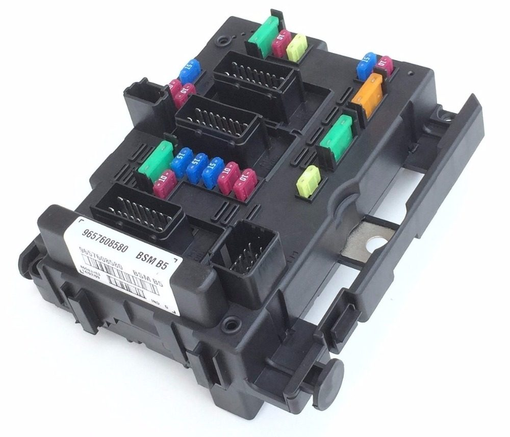 free shipping Fuse Box Unit Assembly RELAY for PEUGEOT 206 CABRIO 307  CABRIO 406 COUPE 807